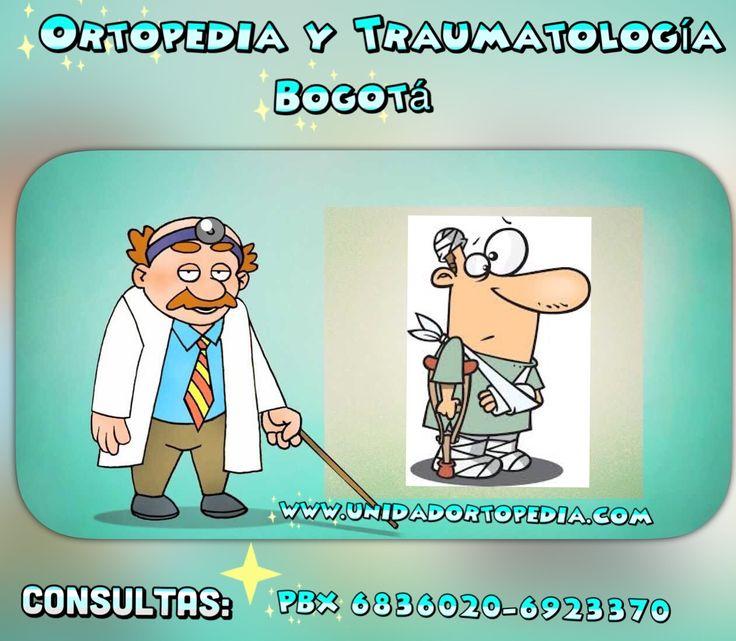 Consultas con Ortopedistas y Traumatologos en Bogotá.  La Unidad Especializada en Ortopedia y Traumatologia www.unidadortopedia.com PBX: 6923370, Móvil: 314-2448344 Bogotá, Colombia.
