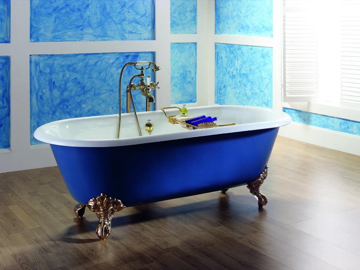 vasca da bagno freestanding in ghisa verniciata con piedini diane by viadurini collezione