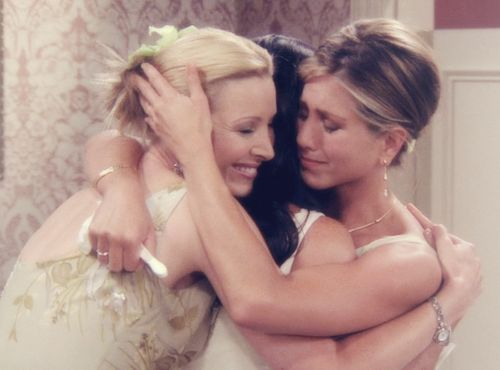 I will have a picture similar to this with my best friends on my wedding day... Whenever that may be (: