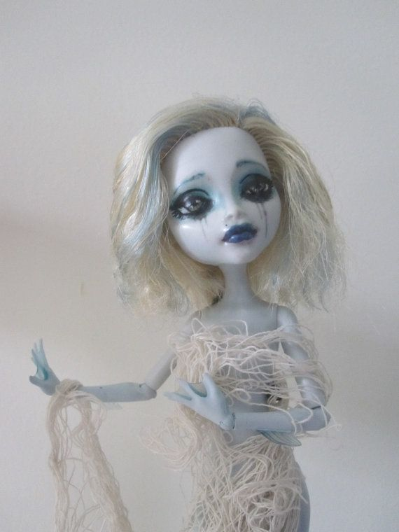 Catch of the Day Lagoona Blue custom monster high doll