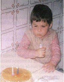 Iker Casillas in childhood