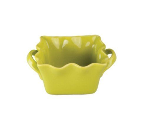 BIA Cordon Bleu Wavy 16-Ounce Square Baker, Chartreuse, Set of 2 by Bia Cordon Bleu. $18.00. Set of 2 baking dishes. Material: stoneware. Fun Chartreuse color with wavy edges. Dishwasher/Microwave/Oven safe. Established in 1952, BIA cordon bleu is a leading manufacturer of stoneware and stoneware serving accessories, bakeware and dinnerware. With classic and contemporary shapes, as well as uniques glazes, hand painted patterns and designs, BIA cordon bleu continues the tr...
