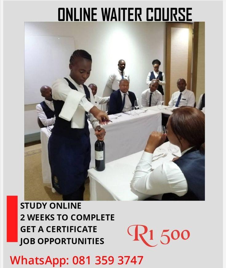 Online Waiter Course Waiter Job Opportunities Online Courses