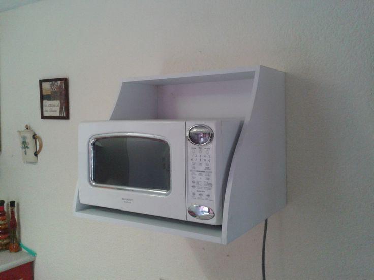 alacena para horno de microondas