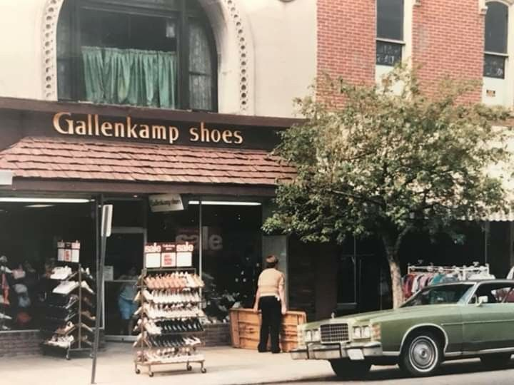 The Former Gallenkamp Shoes On The North Side Of Wheeling Avenue Between 6th And 7th Streets Dave Adair Photo Cambridge Ohio Ohio Photo