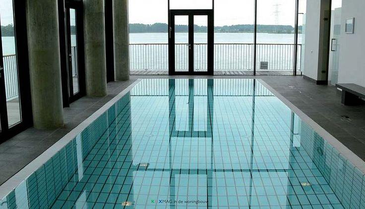 Zwemmen in weelde in luxe appartementen dankzij KNX-domotica