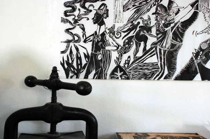 prensa vertical