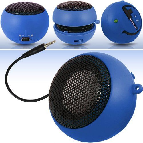 Introducing N4U Online Online Blue Super Sound Rechargeable Mini Pocket Size Portable Speaker 35mm Audio Jack Built In With Usb Charger Lead Suitable For Samsung Omnia M S7530. Great Product and follow us to get more updates!