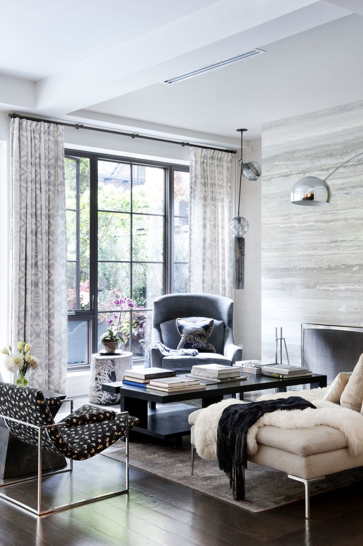 dhd interior design in nyc gramercy loft living room jens risom