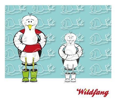 Plotterdatei - Marvin die Möwe von wildfang by katharina auf DaWanda.com