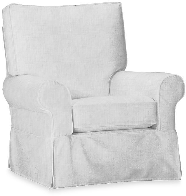 Comfort Small Round Arm Glider Slipcover Only