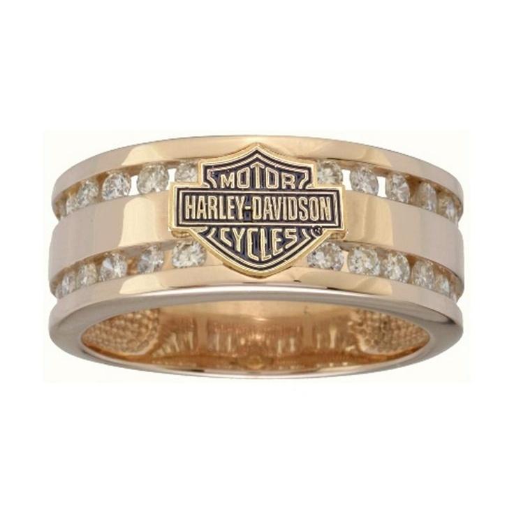 Harley-Davidson® Men's Wedding Ring RG475D