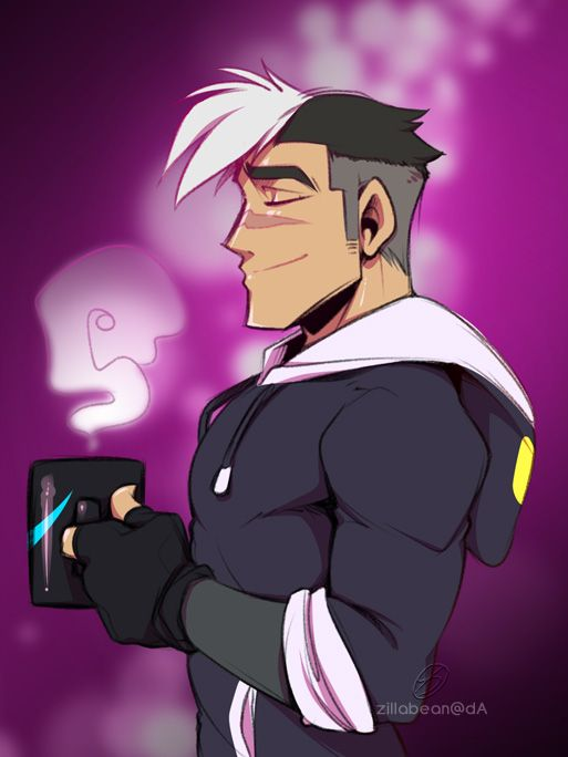 I just want Shiro to be happy and healthy and safe and comfortable ;_; [Shiro ©2016 Netflix/Dreamworks ] -- [July 2016]