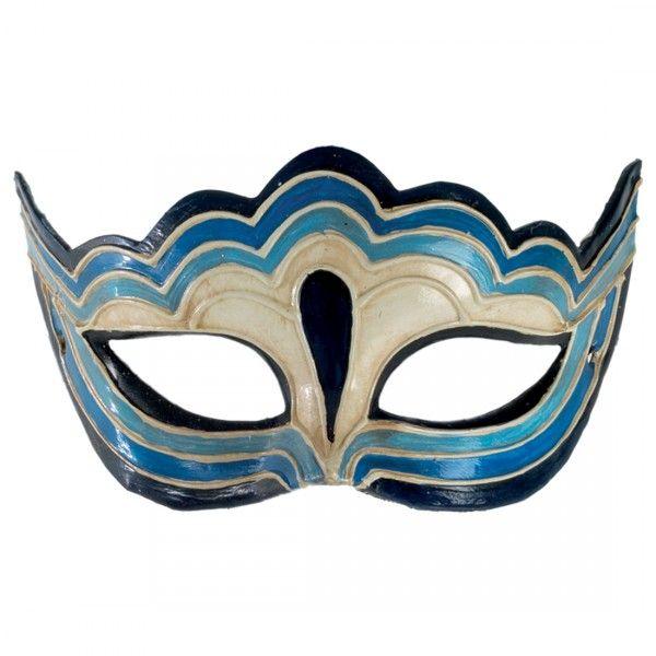 Venezianische Maske, Halbmaske Venezianisch
