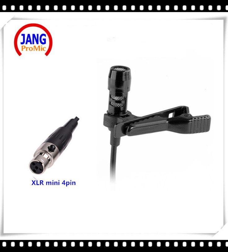 Professional Lapela Mini Condenser Microphone Lavalier Conference Microfone for Shure Wireless Transmitter XLR Mini Mikrofon