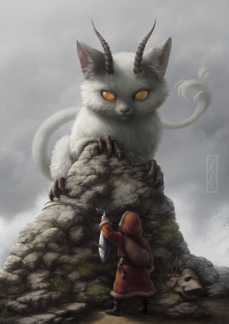 Bakeneko, Koti Komori on ArtStation at https://www.artstation.com/artwork/DlYby