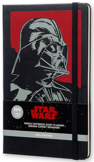 2016 Moleskine Star Wars Limited Edition Large Weekly Diary 12 Month by MOLESKINE S.P.A. (8052204401604) | hive.co.uk