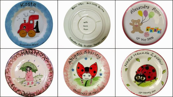 Personalised Child's Plate