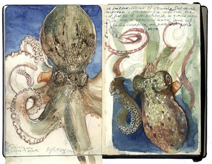 Stefano Faravelli by Sketchbooks exhibit 2007, via Flickr