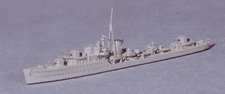 Navis Neptun 1/1250 RN J/K & N Class British Destroyer 1939 1163