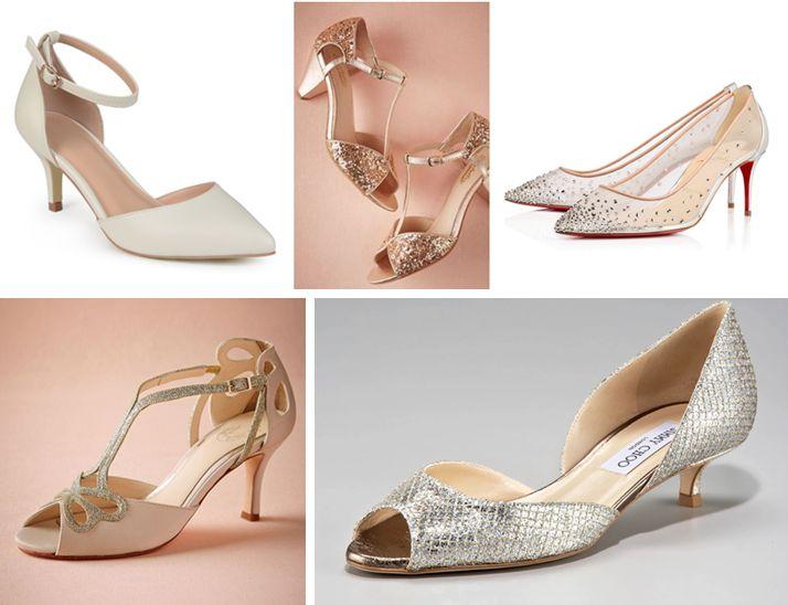 Niski obcas - Idealne buty ślubne dla Panny Młodej