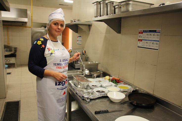 2013 Yemek Yarışması Finalistimiz  Bahar Şengezer
