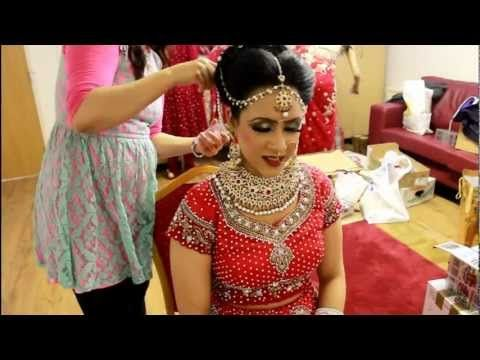 Bridal Hair Tutorial VIDEO Real Bridal makeup and hair by Sadaf Wassan