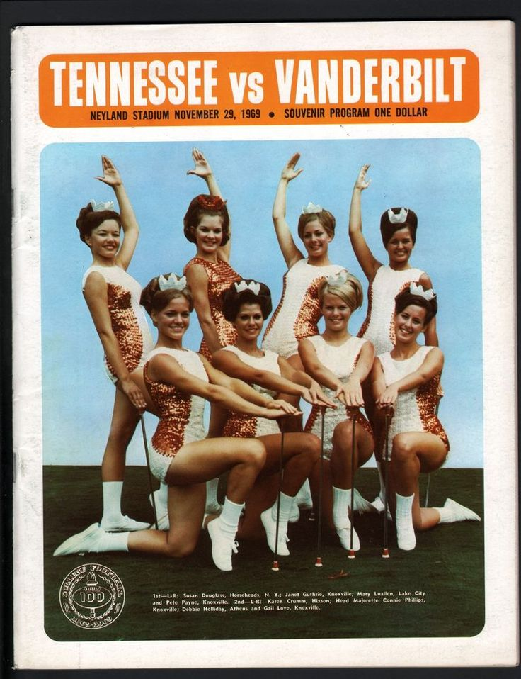 1969--tennessee vs. vanderbilt-ncaa-college football program from $83.3