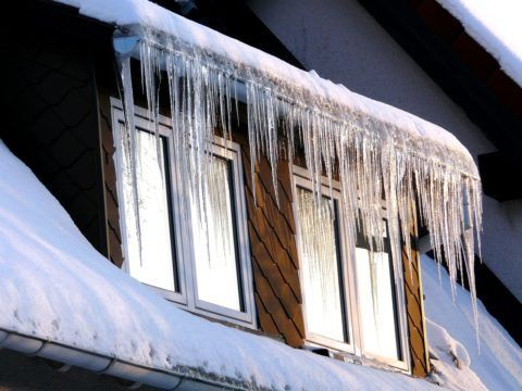 Make Your House Gutters Work Better In The Winter: 5 Ways To Prevent Ice Dams & Roof Ice Melt