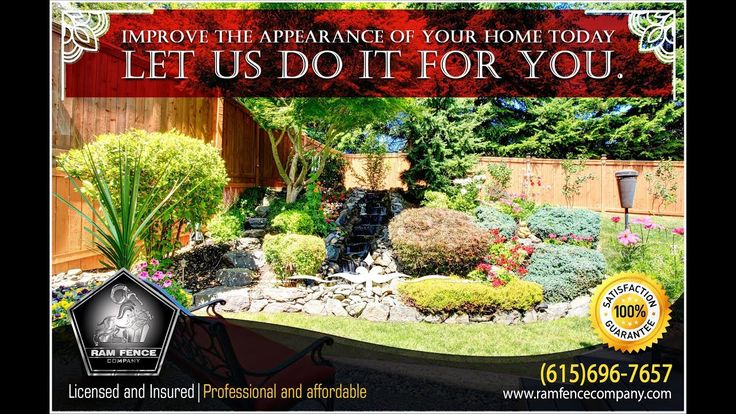 Improve the appearance of your home today, let us do it for you
