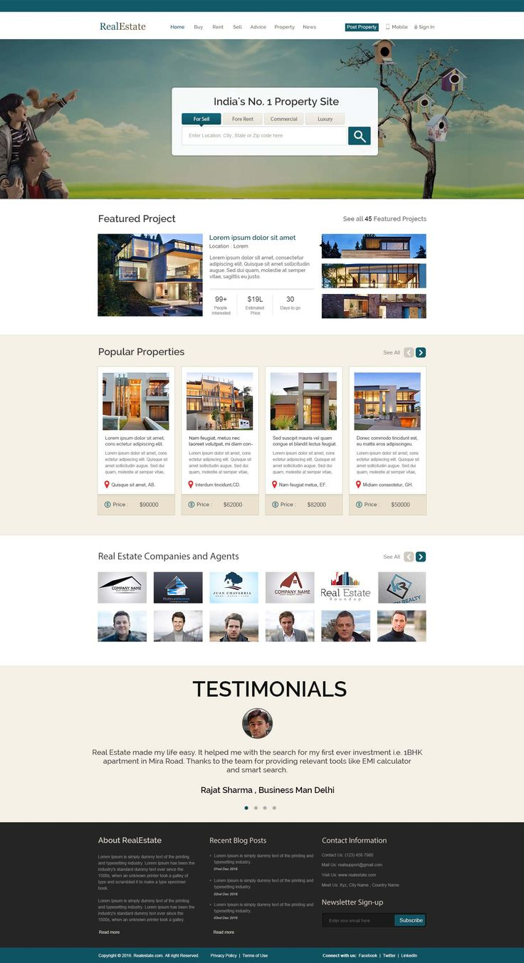 Our new project #Real #Estate #wordpress #website #design. To design or develop you #wordpress #website contact us at service@wordpraxs.com