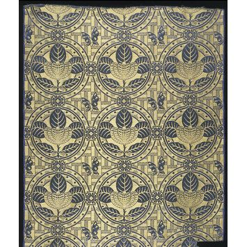 Butterfly Brocade (Furnishing fabric)