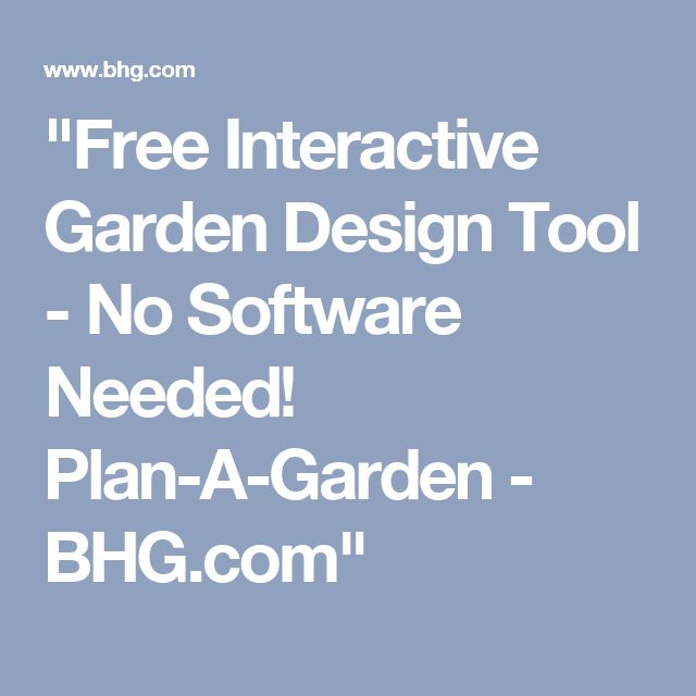 25+ Best Ideas About Garden Design Tool On Pinterest