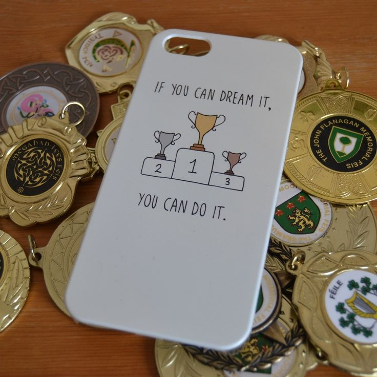 'If you can dream it, you can do it' case. Irish dance case. Please just take my money