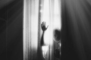 "3RD PLACE | SILHOUETE CATEGORY - ""Who is there"" - Natalia Kharitonova, Russia"