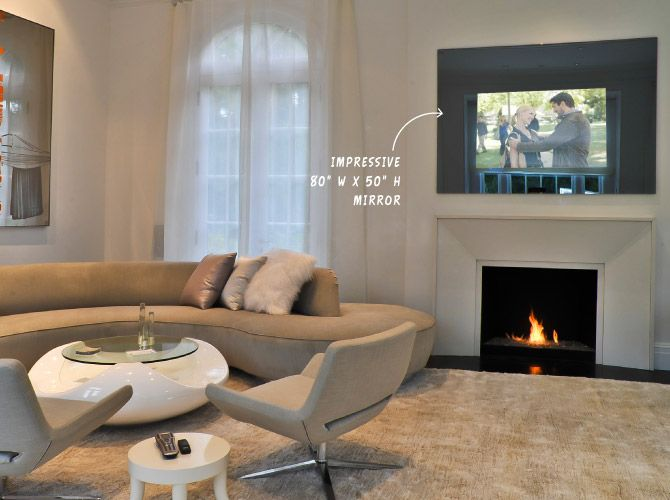 25 Best Hidden Tv Over Fireplace Images On Pinterest