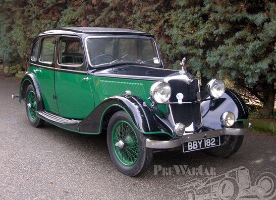1936 Riley 12/4 Adelphi