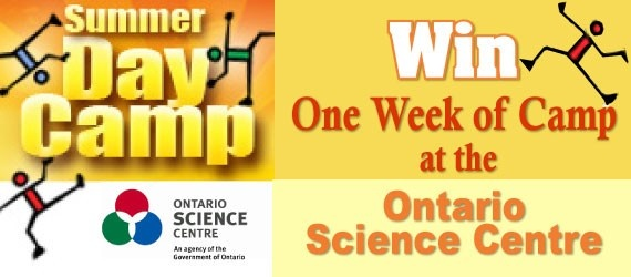 Win a week of camp at Ontario Science Centre