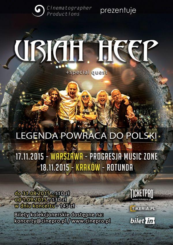 Legendy rocka jesienią w Polsce - Aktualności - Muzyka rockowa i metalowa, zespoły, płyty, wywiady – Teraz Rock