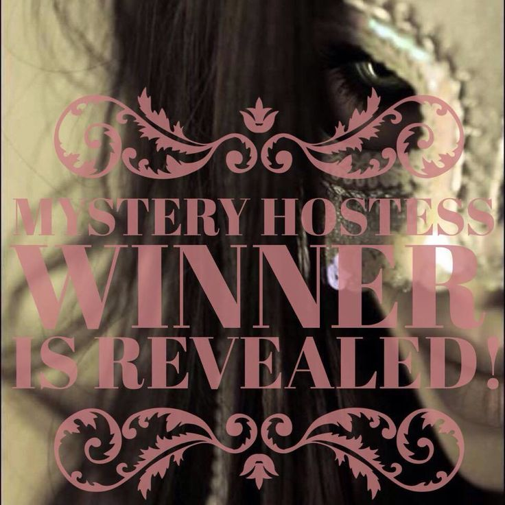 Mystery hostess reveal will be 12/10/2014. Like my business page for your invite to the Mystery Party Madness.