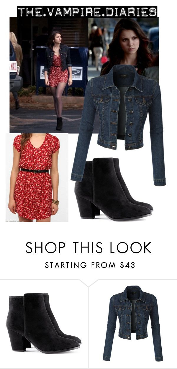 """Елена Гилберт"" by cyrus441 ❤ liked on Polyvore featuring beauty, H&M, LE3NO and tumblr"