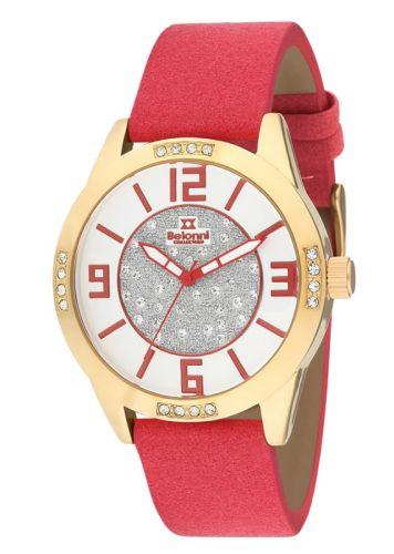 Ρολόι Γυναικείο με λουράκι δερμάτινο Σουέτ BLN5087B