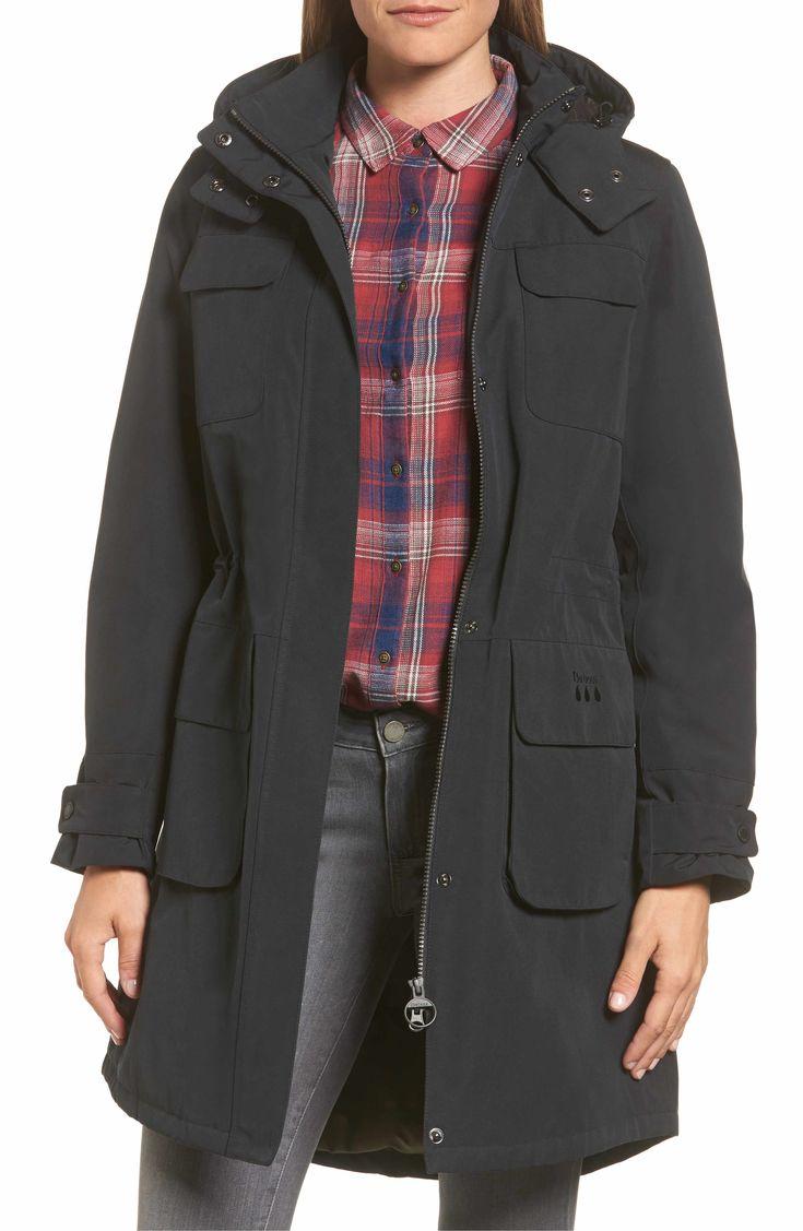 Main Image - Barbour Velum Hooded Waterproof Jacket