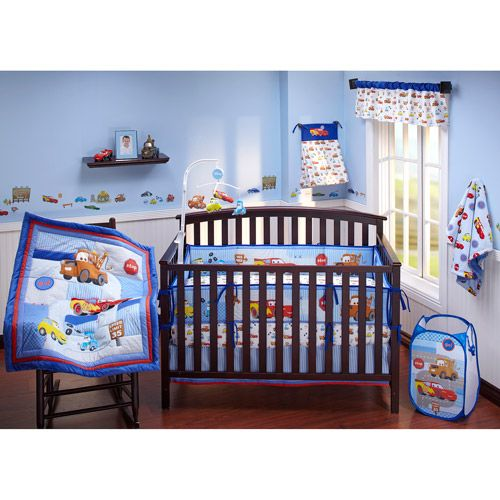I think if I ever have a son, his nursery would be something like this...
