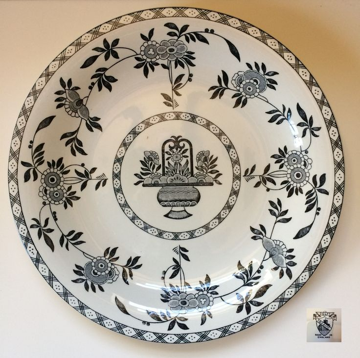T.G.Green \u0027Delft\u0027 Bowl in a more unusual Black colourway  sc 1 st  Pinterest & 13 best Delft (D1081) images on Pinterest | Delft Dishes and White ...