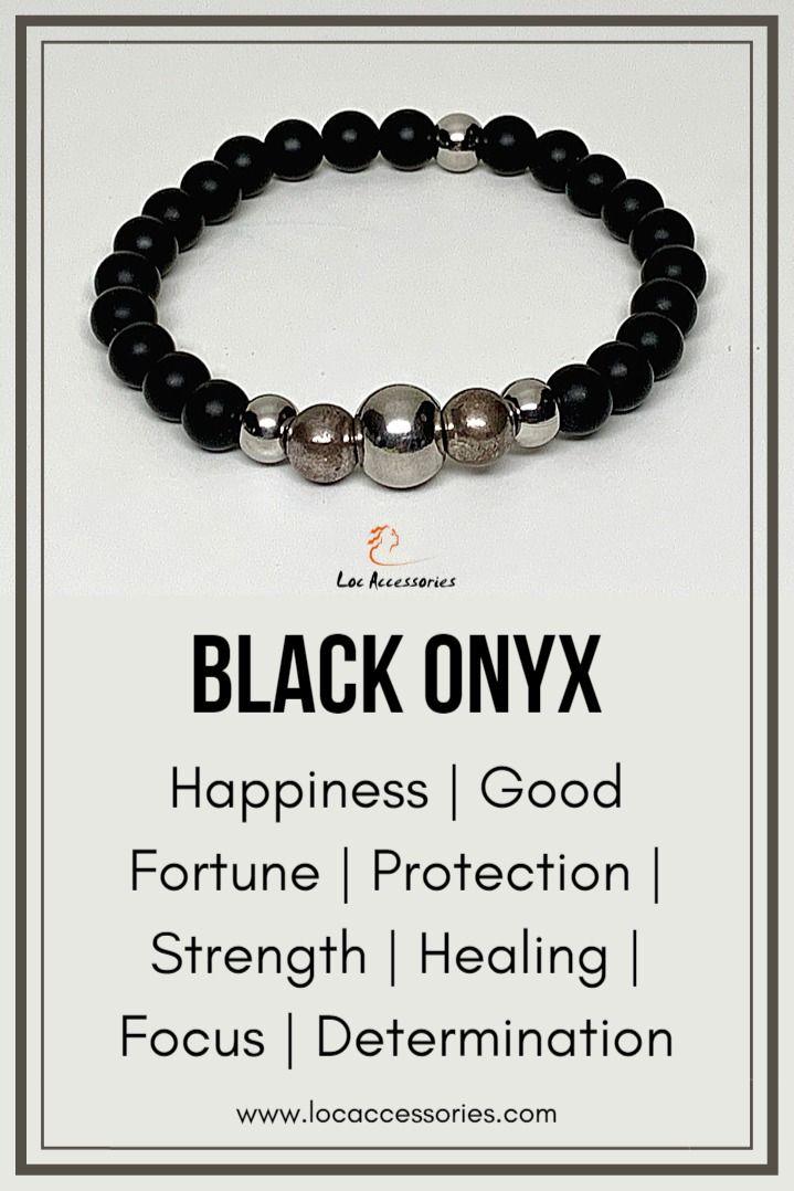 Crystal Bracelets In 2020 Healing Crystal Jewelry Onyx Crystal Crystal Bracelets