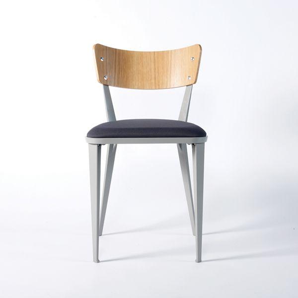Ernest Race BA2 Dining Chair   Aluminium Frame