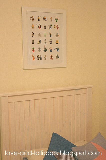 Love and Lollipops: Make a Lego poster