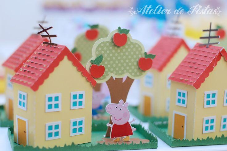 Atelier de Festas: Festa Peppa Pig - Pocket Party