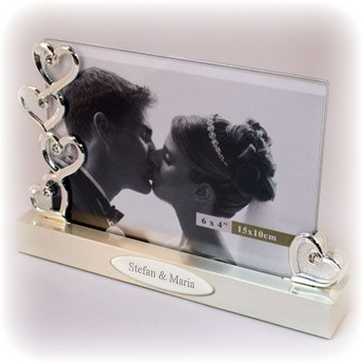 016751 - Float Frame - Hearts | Things Engraved ™